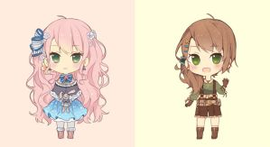 Chibi Samples by Miss-Ariellia