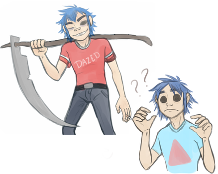 2D's by Tea-cup-kitty