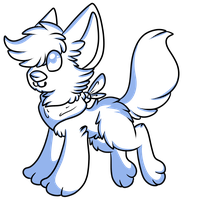 Free Canine Adoptable Lineart by DeerNTheHeadlights