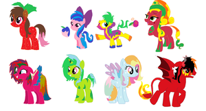 Ummm adoptable ponies anyone? by Yoshi123pegasister