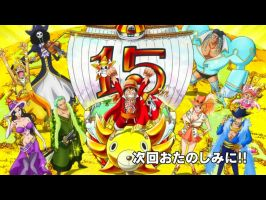 One Piece ending ep 651 15 anniversary by CandyDFighter