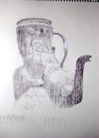 Untitled sketch. - cup and kettle by lifeforceinsoul