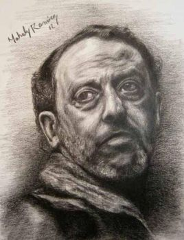Jean Reno by MahoDrawing