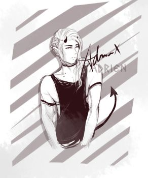 Doodle: Adrien by kitsuine