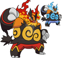 500 - Emboar art v.2 by Tails19950