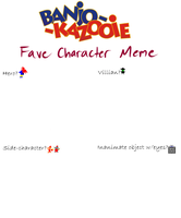 B-K Fave Character Meme BLANK by MiharuWatanabe