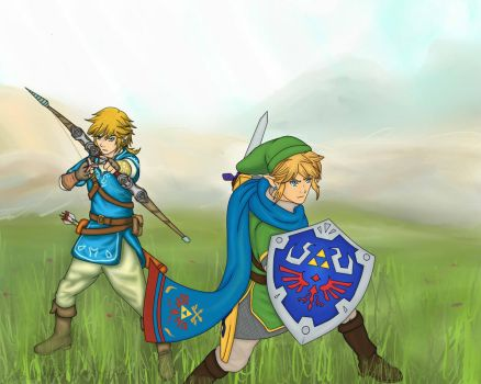 LoZ U meets Hyrule Warriors! by ShadowAvenger94