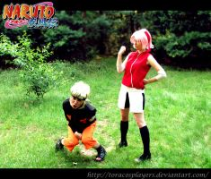 NaruSaku- such a pain by ToraCosplayers
