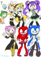 Sonic = Vocaloid by HezuNeutral