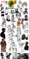 Sketchdump 13 by ZetsubouZed
