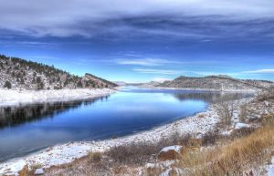 Horsetooth Reservoir HDR by invisiblelife