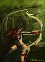 Tifa: Right on Target by deeyosa