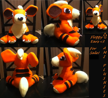 Growlithe Plushie Sold by Ami-Plushies