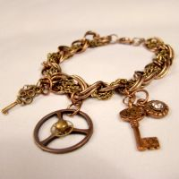 City of Lost Children Bracelet by SteamSociety