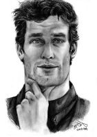 Mark Webber by forskuggad