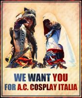 Assassin's Creed Cosplay Italia WANTS U! by 6Silver9
