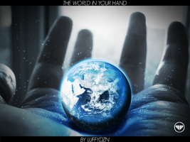 The World in Your Hand by LuffyDZN