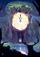 Gift of Life : Time by frixinthepixel
