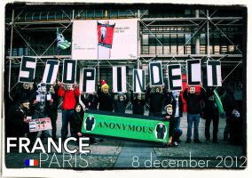 france paris #opbigbrother 8/12/12 by OpGraffiti