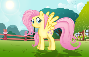 Fluttershy by rainbownspeedash