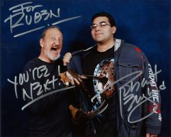 robert englund and me at weekend of horrors by rubenvoorhees1