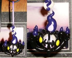 Chandelure Hanging Emote by LaPetitLapearl