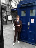 10th Doctor cosplay in London by RapunzelHermioneDaae