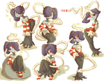 Squigly sketches by Ranoutofideas