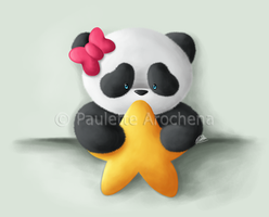 Panda Star by parochena