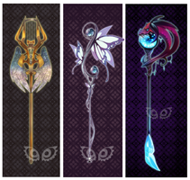 Weapon Adoptable - Mythos set price Closed by clover-teapot