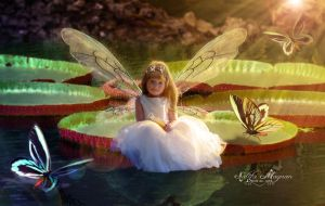 Water lily Fairy by Sacm88