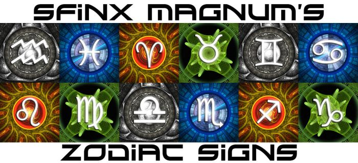 SfinxMagnum's fractal signs by AndreiPavel