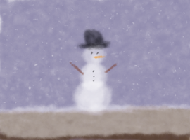 The Furby Snowman of Fluff by BrotherlyFluff