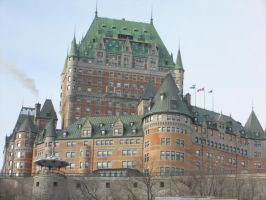 Le Chateau Quebec by bluetiger24