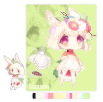 Poromimi Lacey Cotton Tail Hybrid [CLOSED*] by Hinausa
