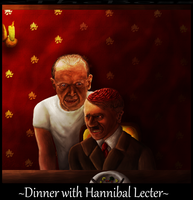 .:Dinner with Hannibal Lecter:. by xTheBoss
