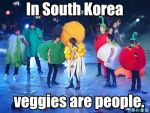 Super Junior Vegetable Macro by supremepanda