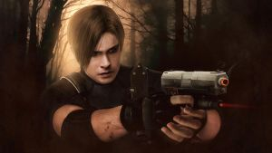 Resident evil 4, Leon Kennedy wallpaper by push-pulse