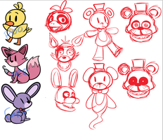 FNAF WIP by DuckyDeathly