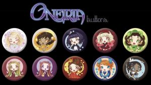 Oneiria Buttons by drawingum