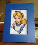 Alice in Wonderland Cross Stitch by Xippe