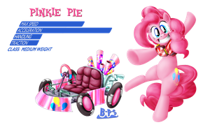 PonyKart - Pinkie by Blue-Paint-Sea