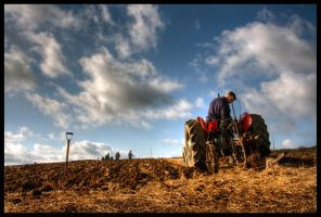 Ploughing The Land by Megglles