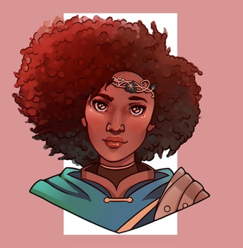 DnD Character Commission by missxdelaney