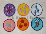 My Little Pony Merit Badges by AKawaiiBoutique