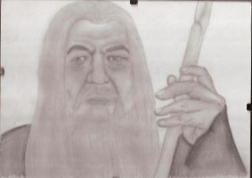 Gandalf the White by IchBinJayne