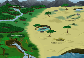 Map of the Mountains by Bayflight