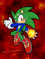 Ray the hedgehog by infersaime