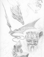 Hobbit Sketches by TurnerMohan