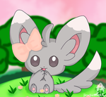 sweet Minccino by jirachicute28